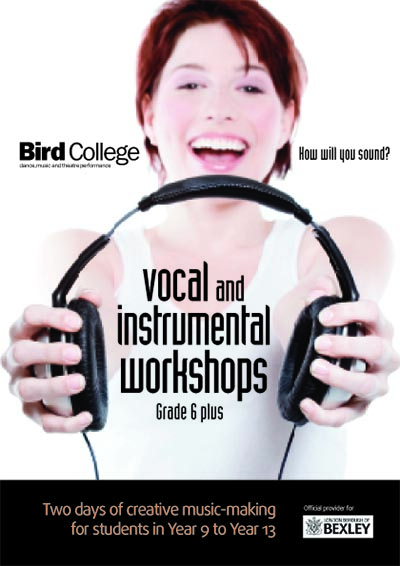19. Vocal workshops